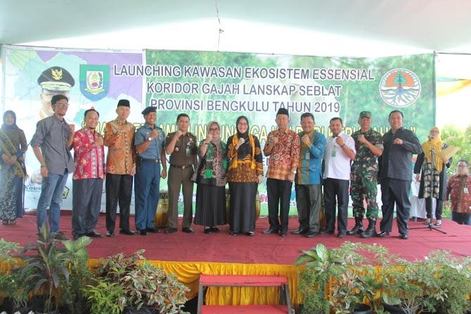Launching Kawasan Ekosistem Essensial Gajah Sumatera Lanskap Seblat