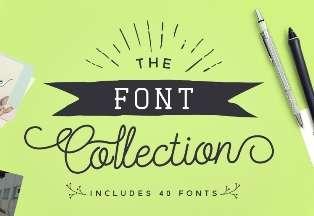 Menampilkan font yang terinstal