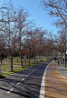 Anillo verde ciclista de Madrid