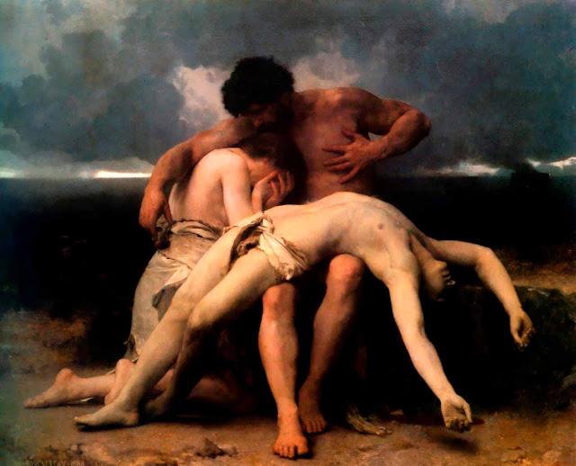 Адольф Вильям Бугро - Первый Траур (1888)