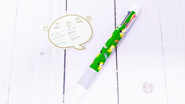 BT21 Chimmy Mechanical Pencil & 4-Color Pen