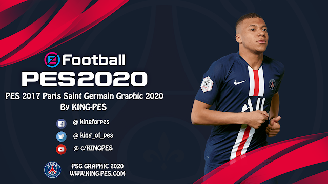 PES 2017 Paris Saint Germain Graphic 2020 By KING-PES