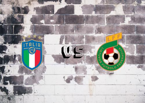 Italia vs Lituania  Resumen y Partido Completo