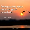 Bible Quotes In Telugu | Bible Quotes In Telugu free download