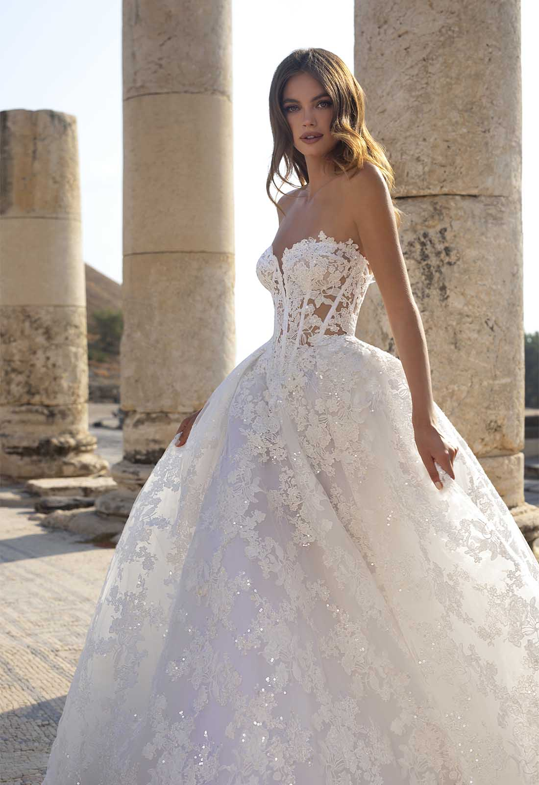 Wedding Gown Gorgeous : PNINA TORNAI