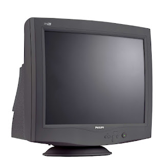 CRT (Cathode Ray Tube) Monitor