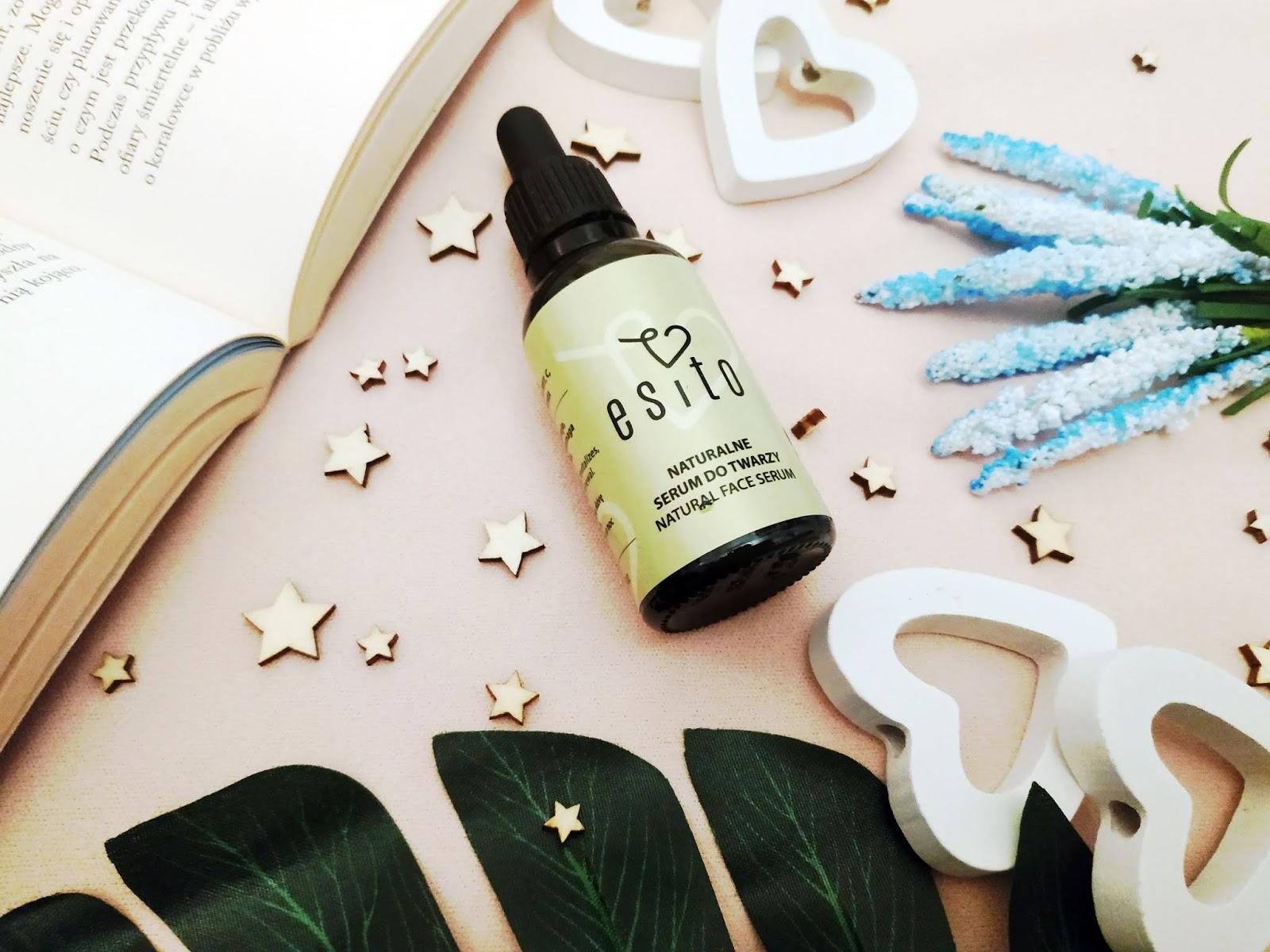 Naturalne kosmetyki od Esito, serum do twarzy