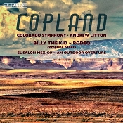 Classical candor copland billy the kid sacd review for Aaron copland el salon mexico score