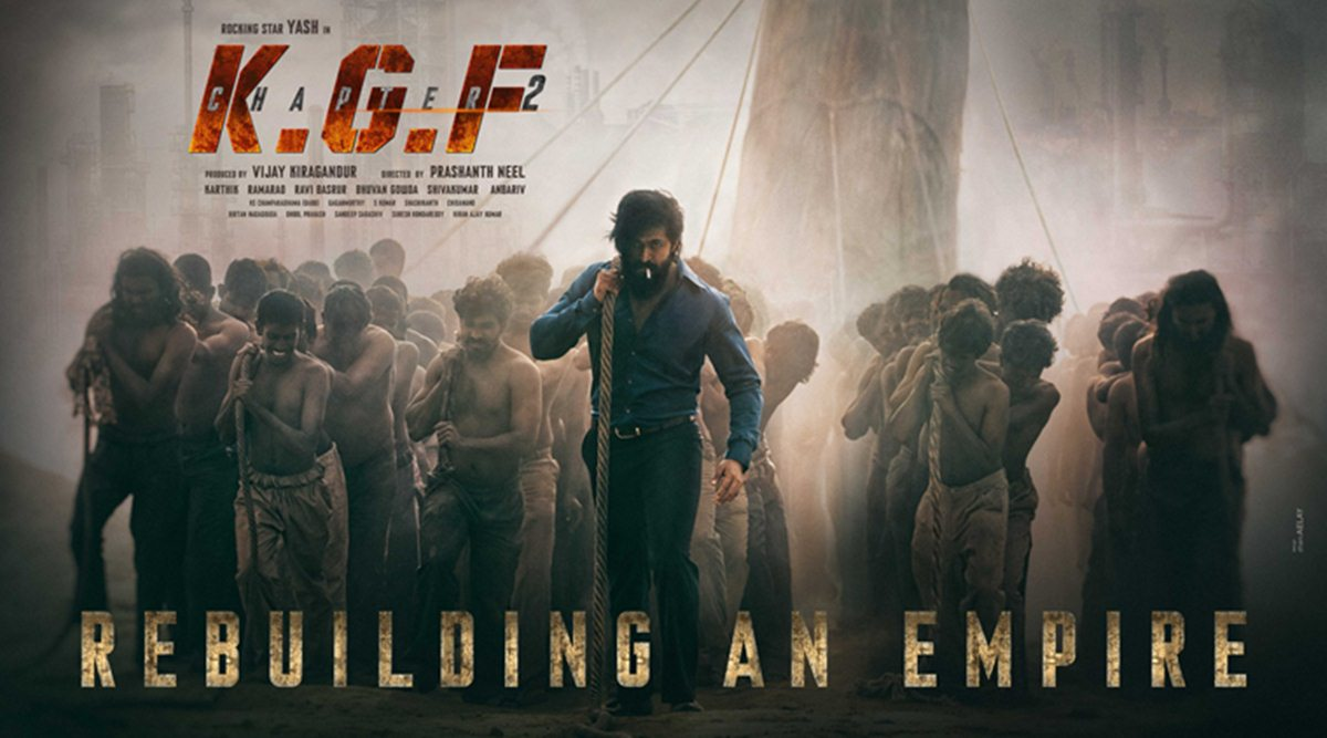 New Update from KGF 2 Image Do you know what director Prashant Neel is doing