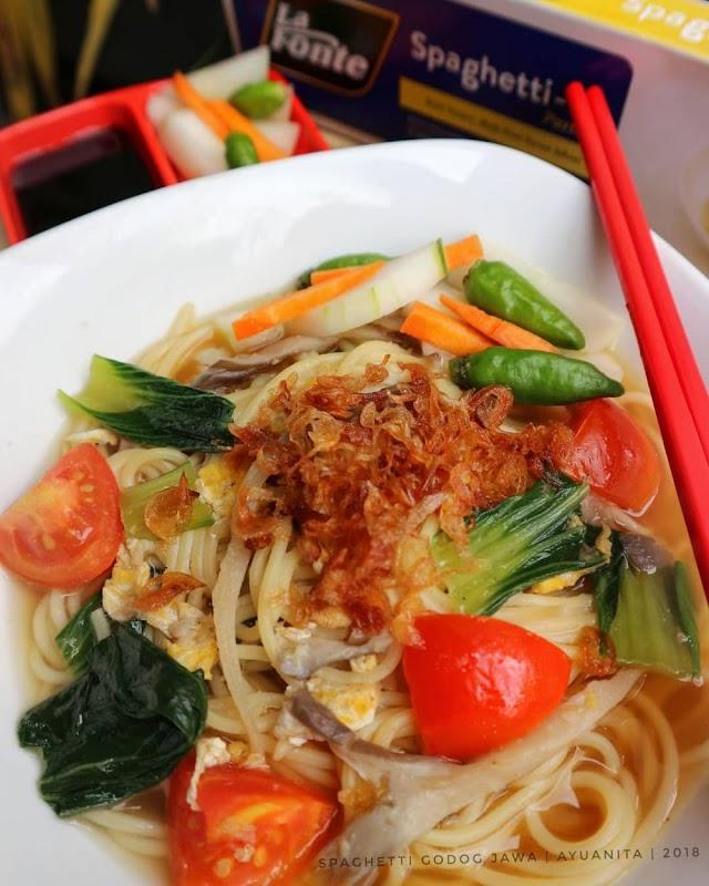 Begini Cara Mudah Membuat Spaghetti godog Jawa