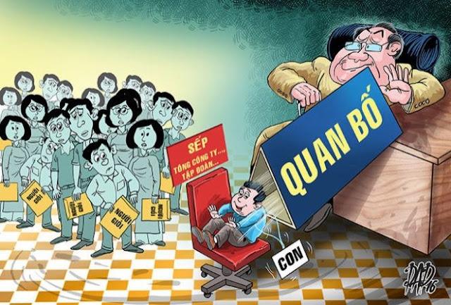 """""""Cả họ làm quan"""" thì họ đòi khống chế cả đất nước, khống chế người dân Việt Nam"""