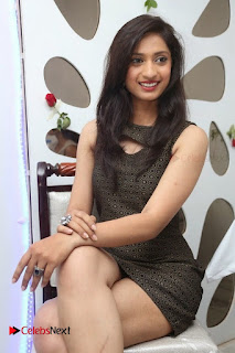Actress Anusha Latest Picture Gallery in Black Short Dress  0012