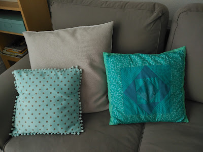 costura, couture, sewing, cojín, patchwork, pillow, coussin