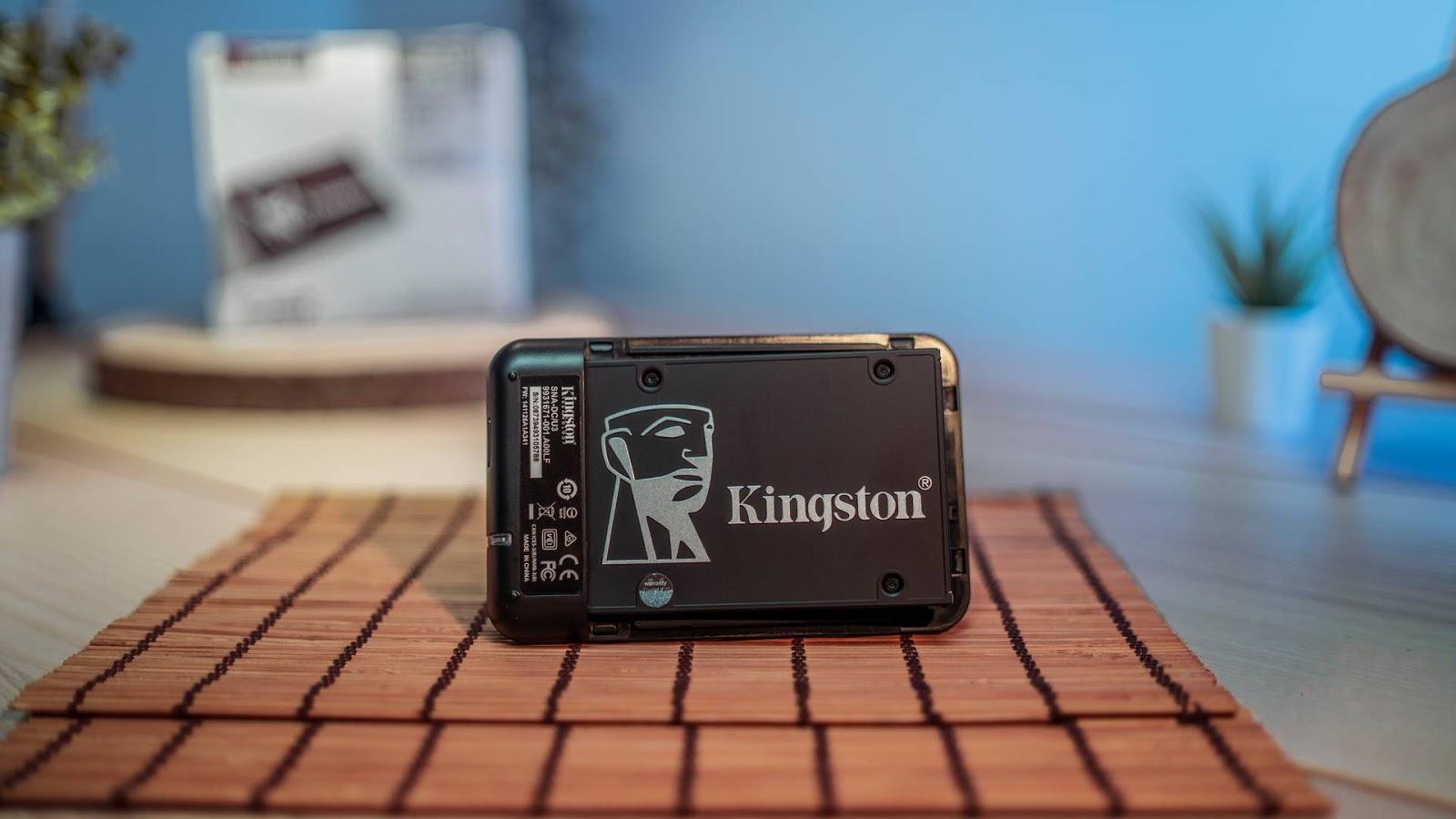 مُراجعة وحدة التخزين Kingston KC600 بحجم 1 تيرابايت