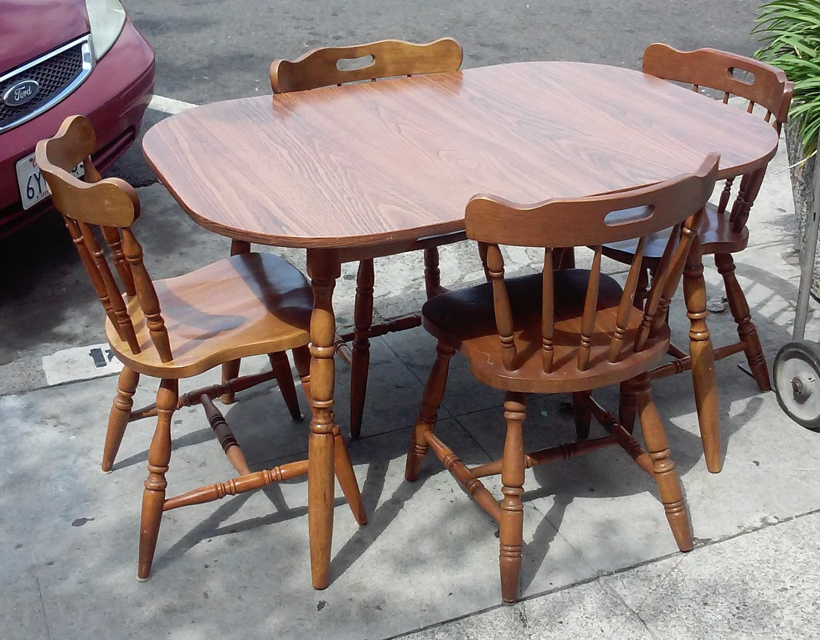 Formica Table And Chairs Uhuru Furniture And Collectibles Sold Colonial Style
