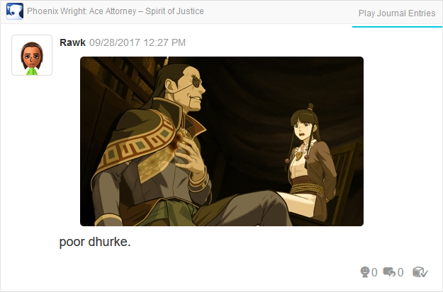 Phoenix Wright Ace Attorney Spirit of Justice Dhurke tied up Maya ropes
