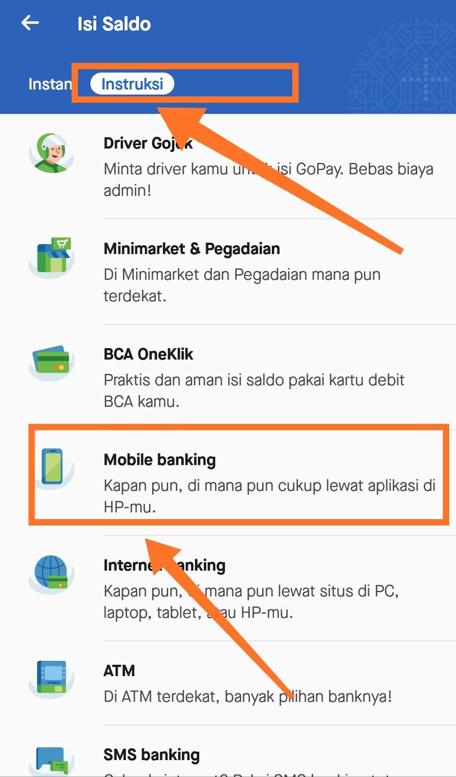 Begini Cara Topup Go Pay Customer Pada Aplikasi Go Jek Menggunakan Aplikasi Mandiri Online