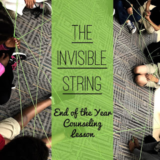 Students involved with The Invisible String activity