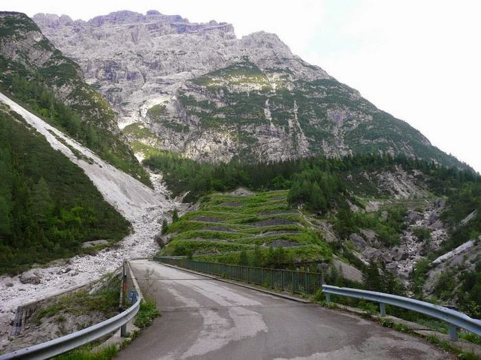 Forcella Lavardet Mountain Pass, Italy
