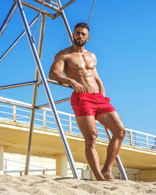 Nestor Shirtless by Cho Studio Fitness