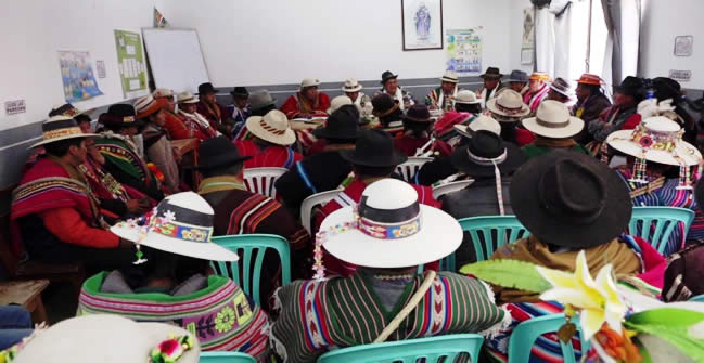 Conamaq: dirigentes del MAS no tienen vergüenza de lo que le hicieron al país