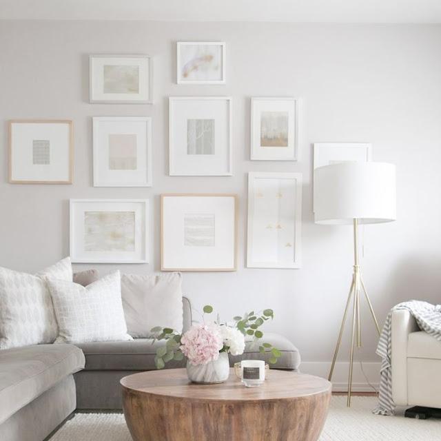 Cat Rumah Bagian Dalam Warna Putih Yang Cerah