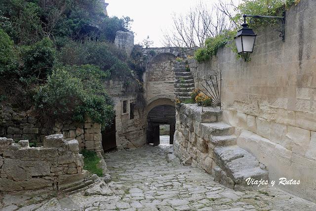 Puerta de Eyguières de Les-Baux-de-Provence
