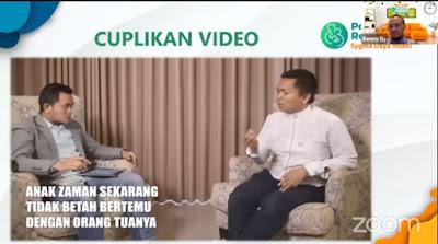 Contoh Cuplikan Video Elearning Parenting Rasulullah
