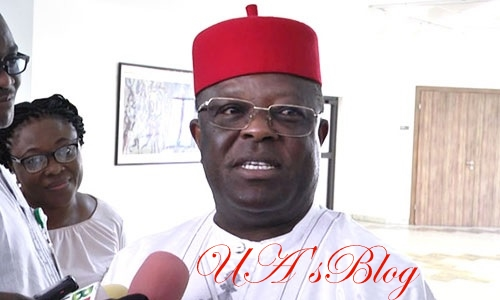 """Preach Forgiveness And Hardworking Not Hate Speeches"" – Governor Umahi Tells Church Leaders"