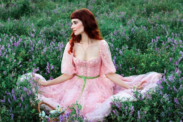 Pink Gerbera Dress Teuta Matoshi Review Promo Code