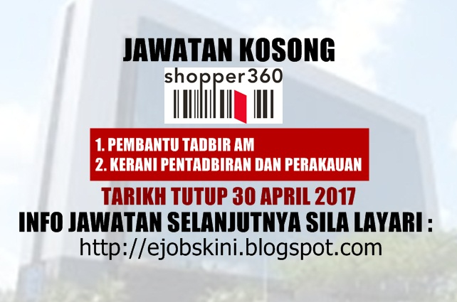Jawatan Kosong Shopper360 Sdn Bhd