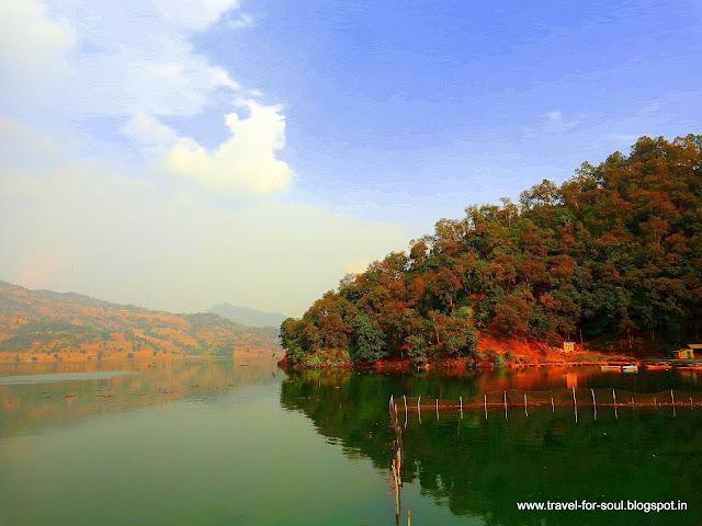 Beautiful Lake at Lekhnath