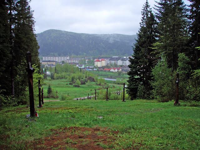 Вид от памятника УПА на Сколе