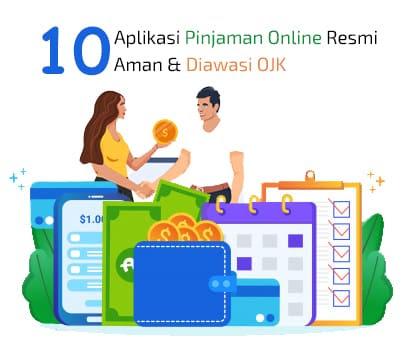Jumlah pinjaman yang besar hingga 20 juta dengan jangka waktu cicilan yang panjang hingga 20 bulan. 10 Pinjaman Online Resmi Terbaik Terdaftar Ojk 200 Ribu 20 Juta Review Teknologi Sekarang