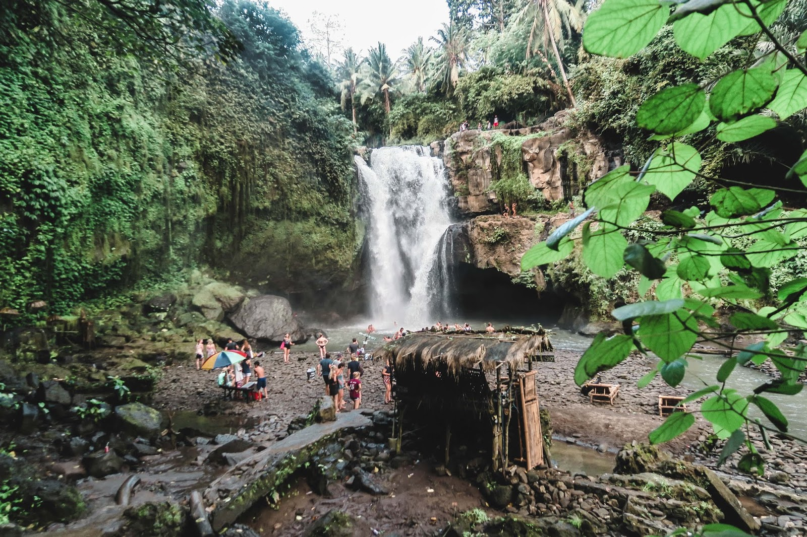 Tegenungan Waterfalls  Bali Indonesia