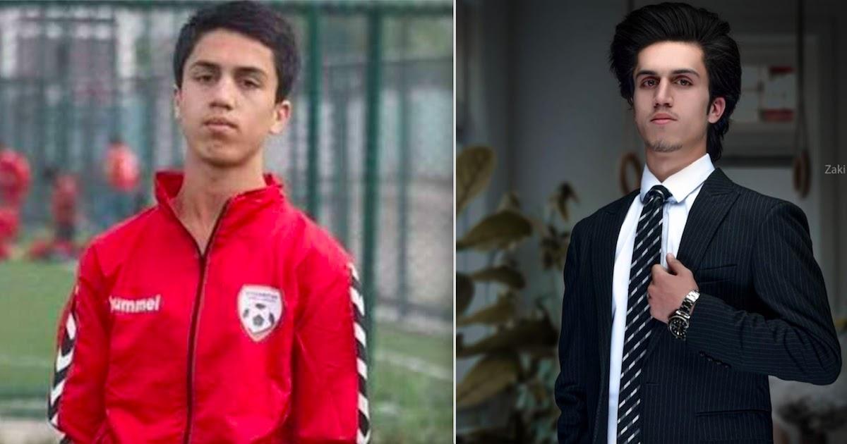 Afghan Footballer, Zaki Anwari, Dies After Falling From US Plane In Kabul