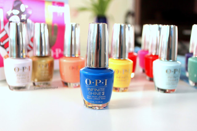 """Swatches and review of  the """"Mexico City"""" OPI nail polish collection  for Spring-Summer 2020"""