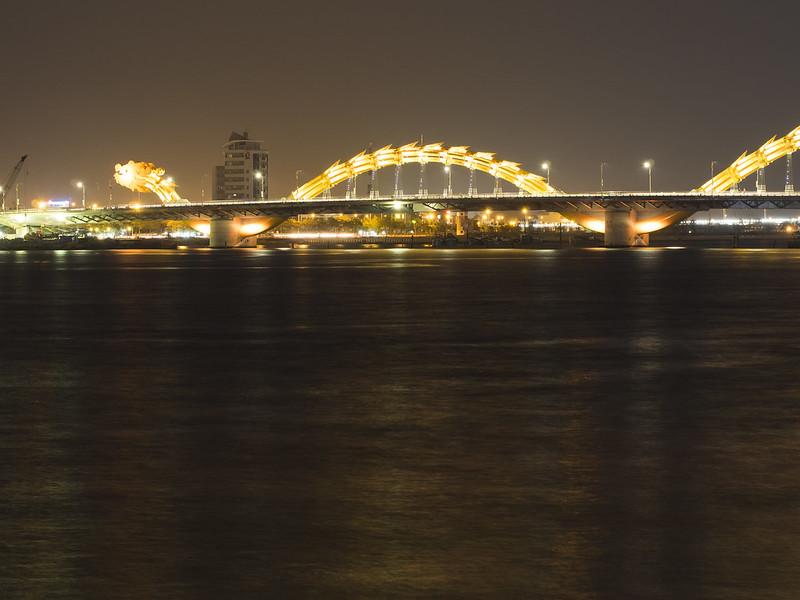 the dragon bridge in da nang