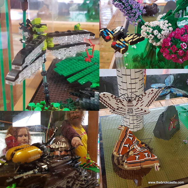 """Knowsley #Ultimatebricksafari LEGO insect tent butterflies bugs beetles dragonfly"""