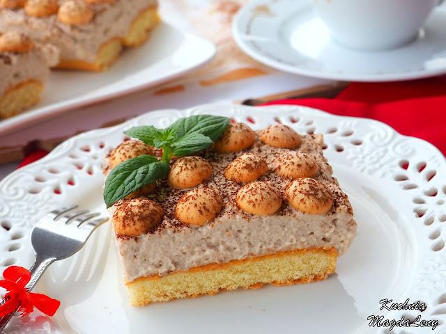 Cappuccino ciasto bez pieczenia