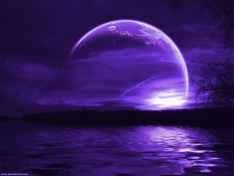 Purple moon - Purple moon wallpaper ...