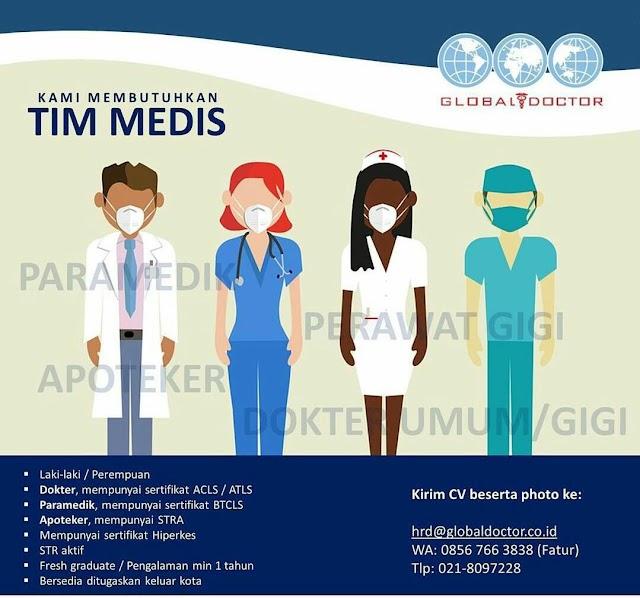 Loker Dokter Global Doctor