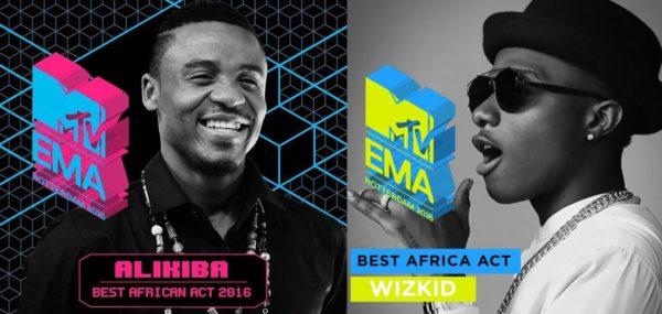 MTVEMAs Strips Wizkid of his Best Africa Act Award