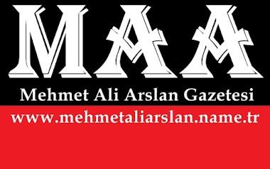 MEHMET ALİ ARSLAN GAZETESİ logosu