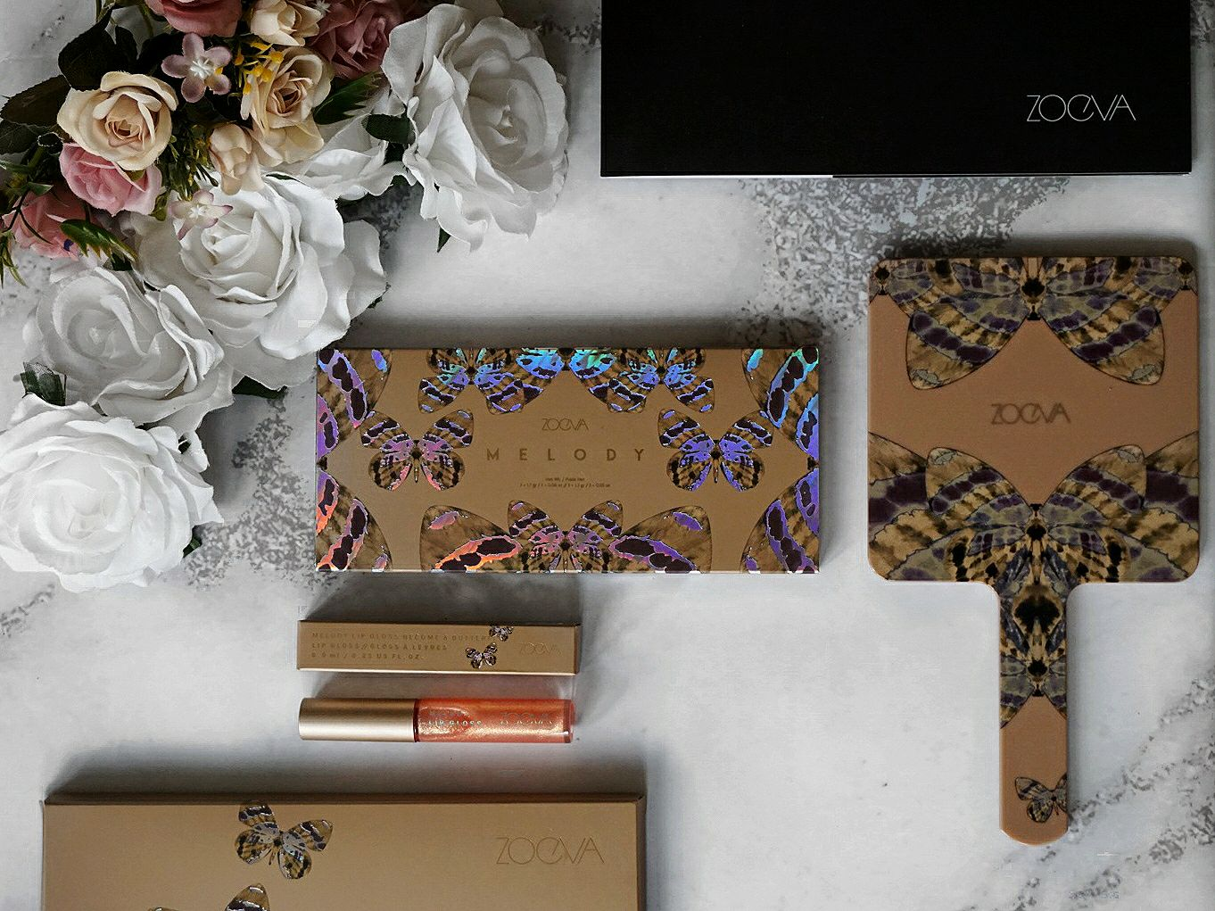 THE MELODY COLLECTION BY ZOEVA - REVIEW , SWATCHES AND FINAL LOOK