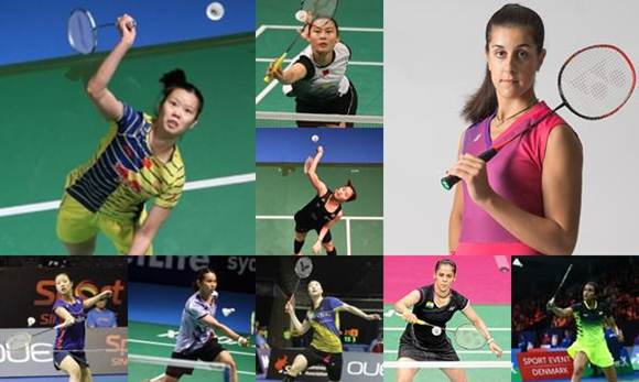 Women Singles Player Badminton 2016 Summer Olympics