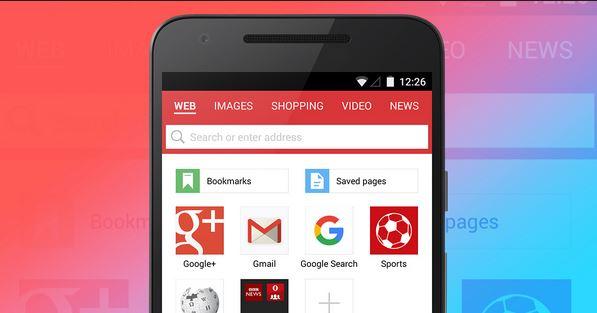 تحميل تطبيق  متصفح اوبرا ميني الجديد OPERA MINI عربي برابط مباشر مجانا