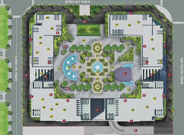 Tiện ích dự án Eco Spring - Eco Green City