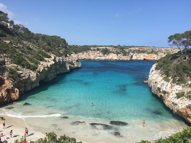 Caló des Moro, Mallorca, Espanha.
