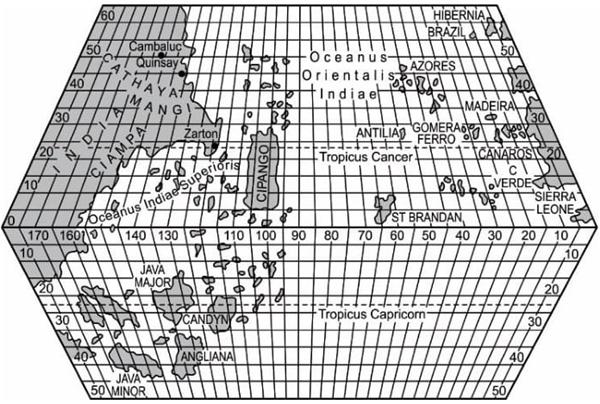 Baseado no Mapa de Tascanelli e em outras obras sobre navegação, Colombo fez vários cálculos e elaborou um plano. Apresentou tal plano a Portugal, que o recusou.